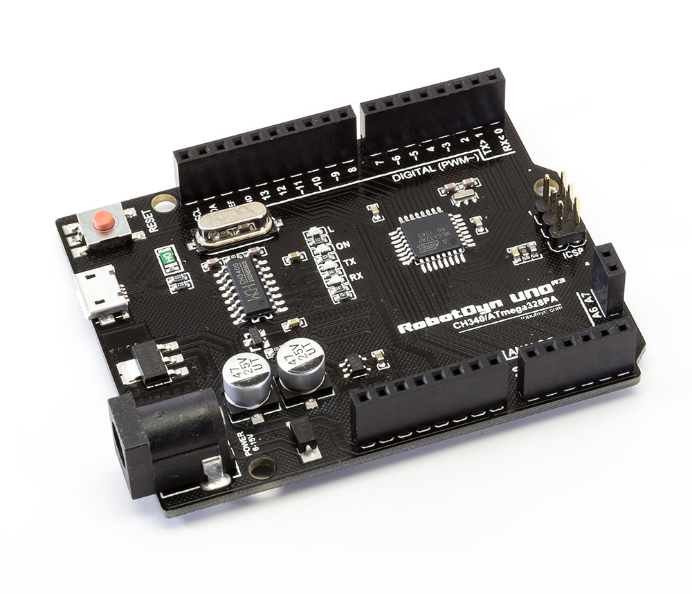 Upgrade industries arduino uno r black edition micro