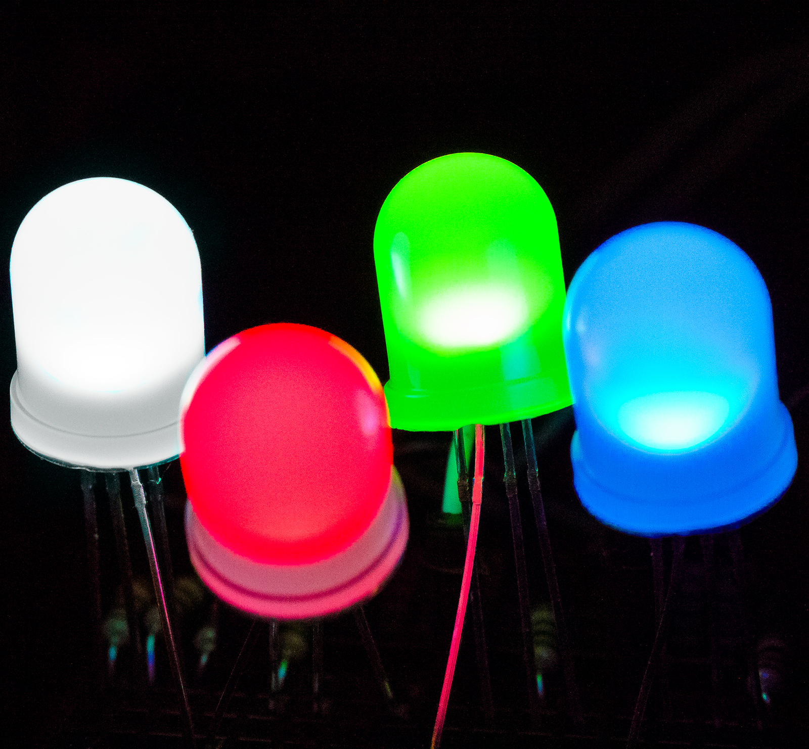 10mm Diffused RGB LED