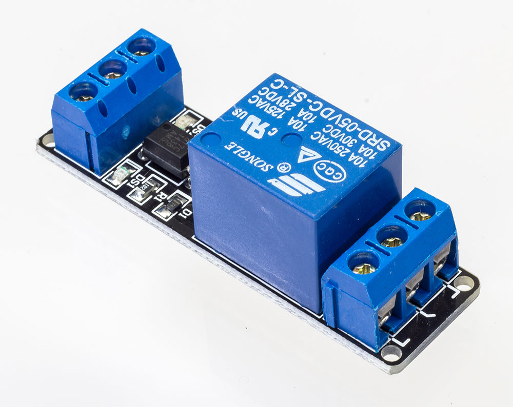 Relay Terminal Crimp Upgrade Industries 1 Channel 250v 10a Module With Screw