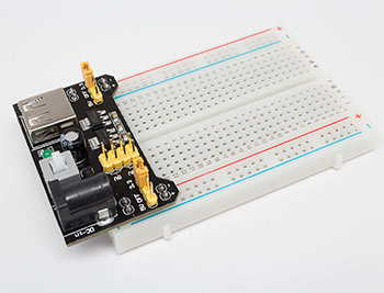 Power Supply with Breadboard
