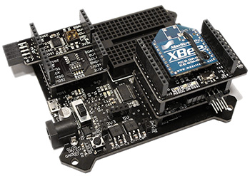 XBee-X on BoardX Motherboard