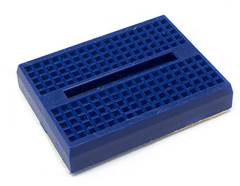 Blue 170 Point Mini Breadboard