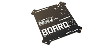 BoardX Motherboard Bottom Unpopulated