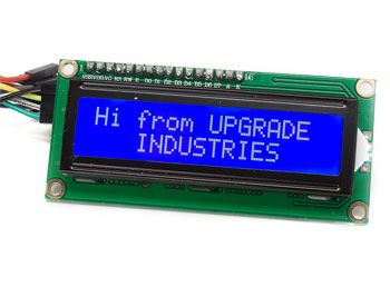 I2C LCD Front